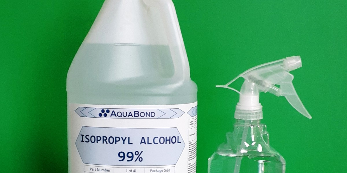 Isopropyl Alcohol for Sanitizing and Disinfecting for Professionals and Households