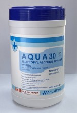 Aqua™ 30 Alcohol Wipes
