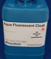Aqua Fluorescent Cloak