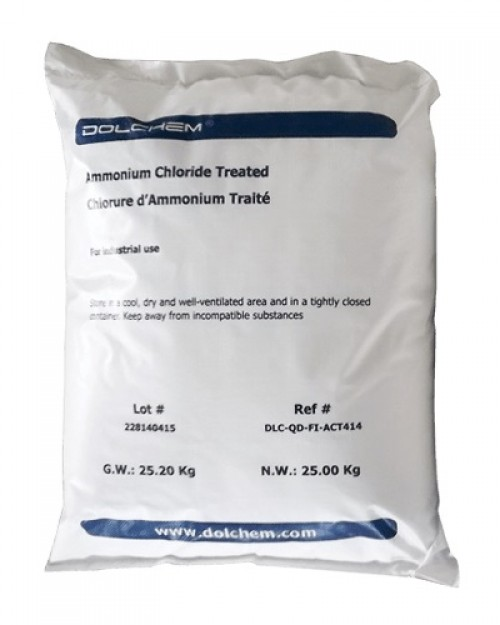 Ammonium Chloride Treated