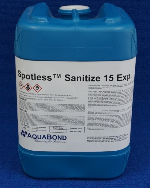 Spotless™  Sanitize 15 EXP