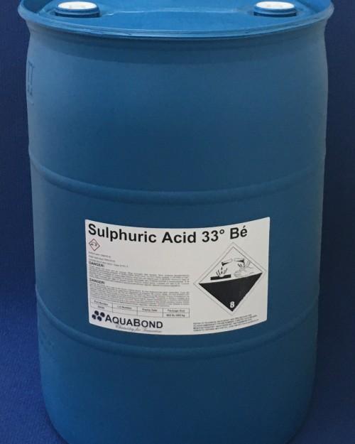 Sulfuric Acid 33º Bé